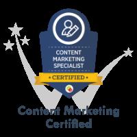 Content Marketing Certification by DigitalMarketer