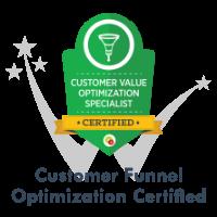 Customer Value Funnel Optimization Certification by DigitalMarketer